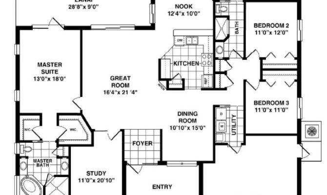 House Plans Two Rooms Home Deco