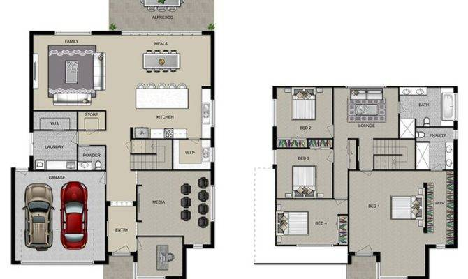 House Plans Two Storey Home Deco