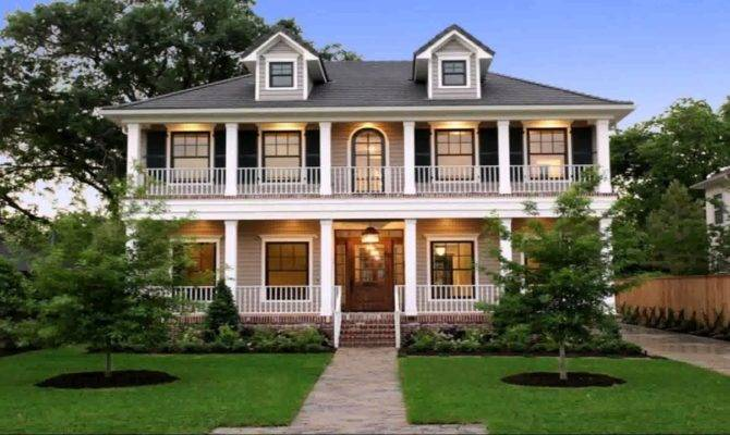 House Plans Two Story Wrap Around Porch Youtube