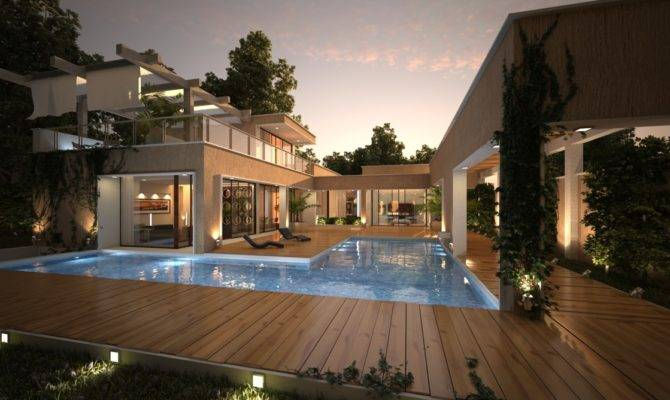 House Pool Renders