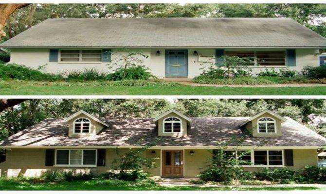 House Remodel Before After Ranch Home