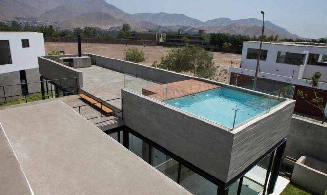 House Rooftop Pool