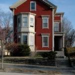 House Two Story Bay Window Providence Rhode Island