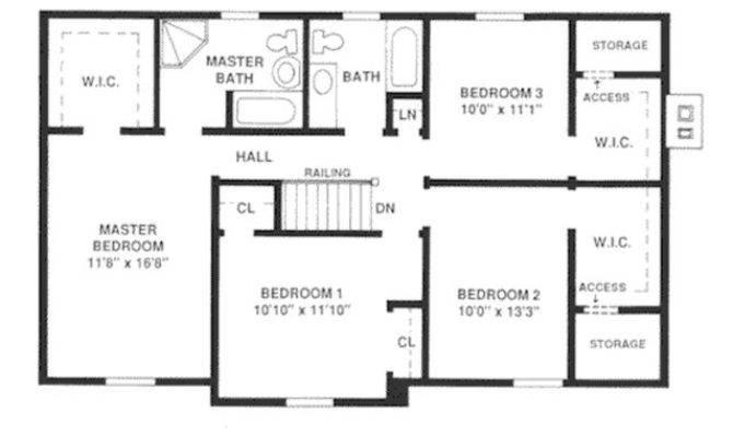 Houseplans Upper Floor Plan