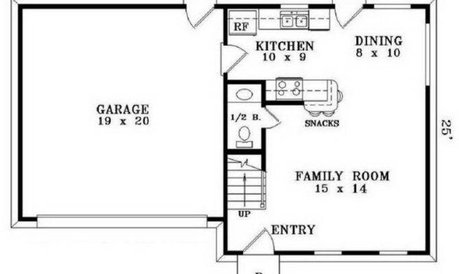 Houses Floor Simple Plans Small House