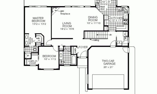 Houses Floor Simple Ranch House Plans Home Plan Designs House Plans 53632
