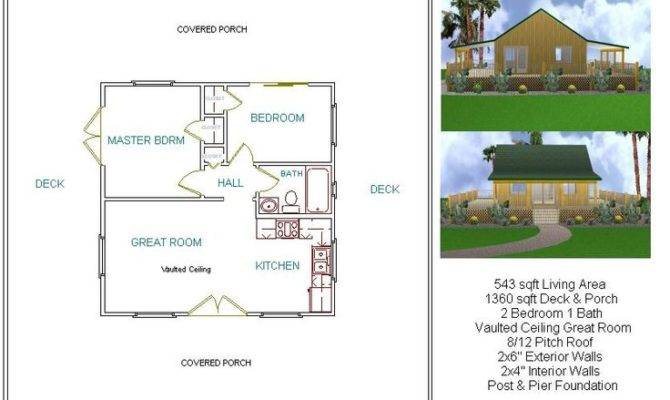 Houses House Plans Wood Cabin Floor