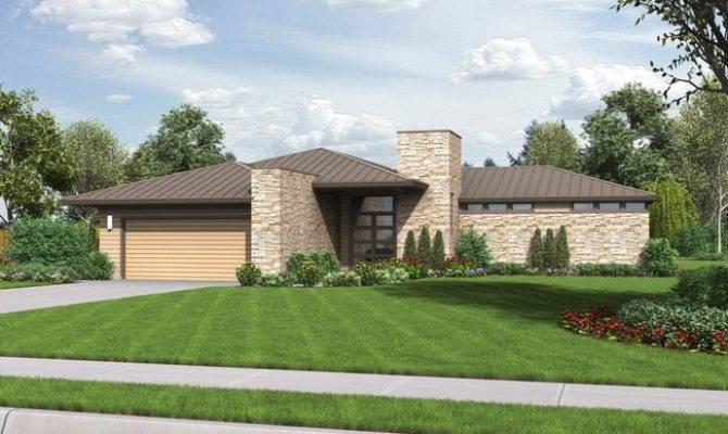 22 Harmonious Contemporary Ranch House Plans House Plans