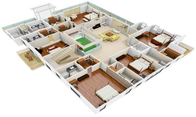 Houzone Customized House Plans Floor Interiors