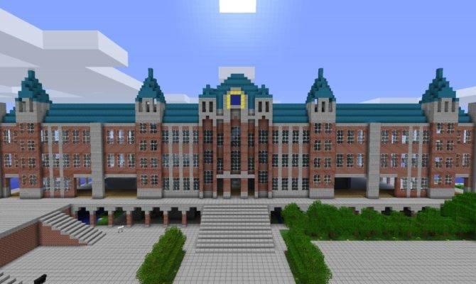 Huge Mansion Minecraft Project