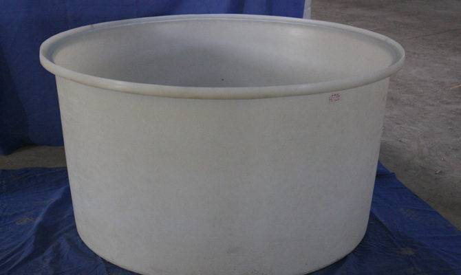 Huge Plastic Container Water Tank Round Type Wine