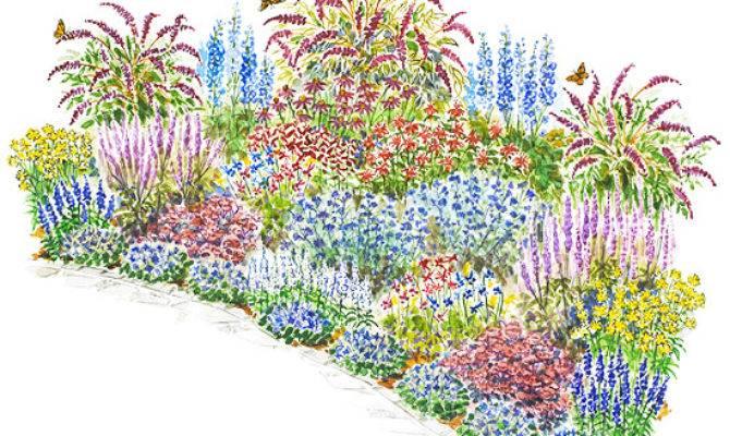 Hummingbird Garden Layout Alices Intended