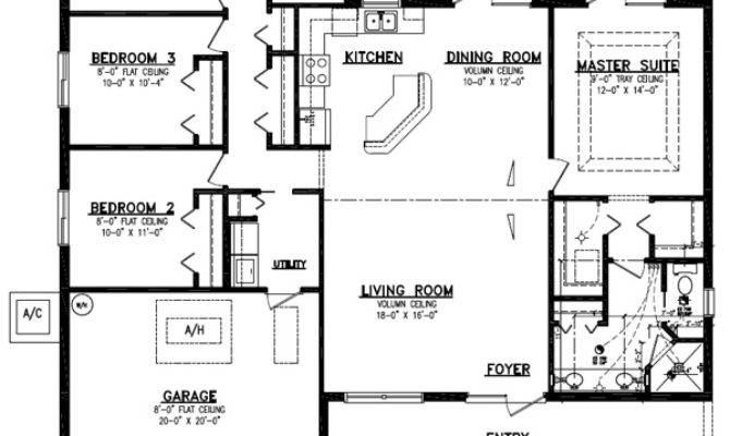 Huntington Porch Home Plan Bedroom Bath