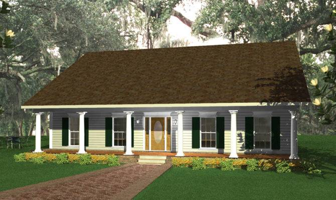 Hyannis Plantation Southern Plan House Plans