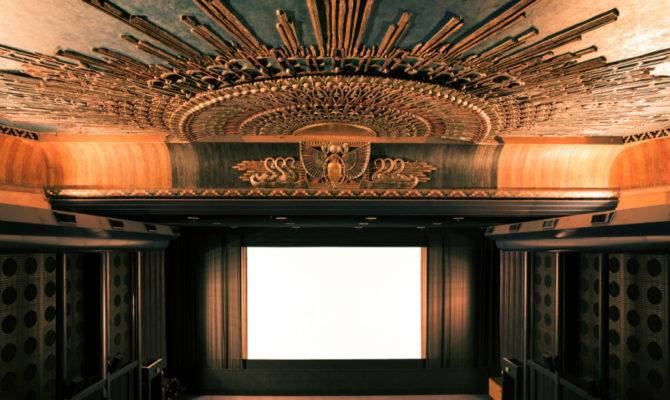 Hypnotic Photos Empty Movie Theaters Turned Suburban Temples