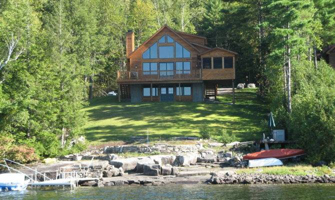Ideas Awesome Lake Front House Plans Smallnt Walkout
