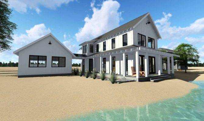 Ideas Beautiful Modernarmhouse House Plans