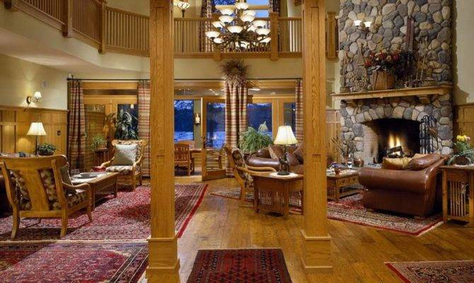 Ideas Design Rustic Cabin Decor