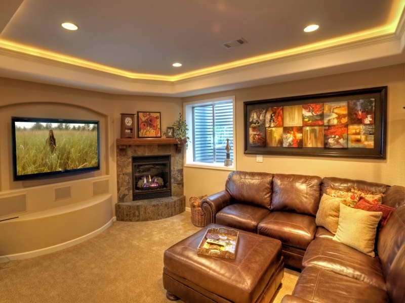 Ideas Finished Basement Design Small Home House Plans 46735
