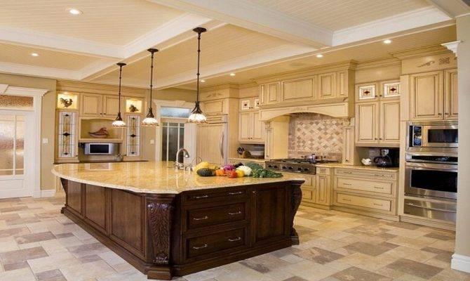 Ideas Large Kitchen Luxury Design
