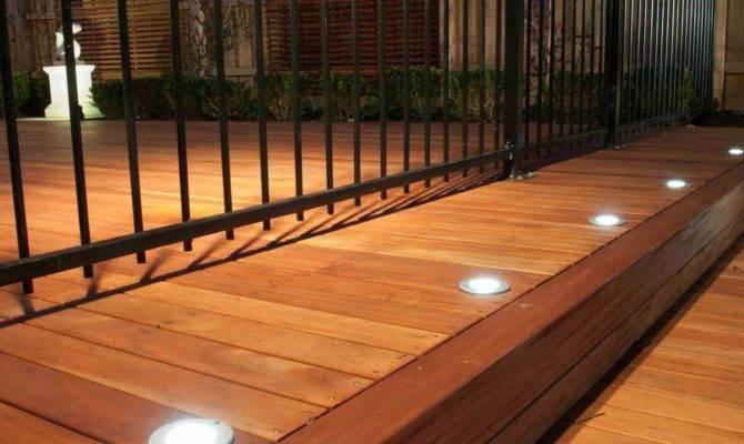 Ideas Lighting Your Deck Handyman