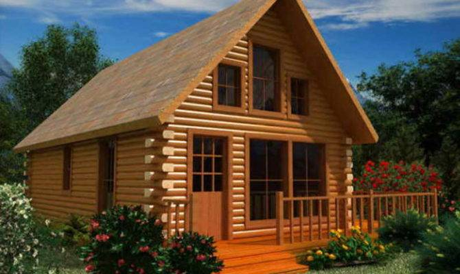 Ideas Log Cabin Floor Plans Project Homes