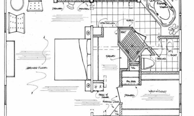 Ideas Master Bathroom Floor Plans