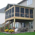 Ideas Porch Deck Screening Steps Build