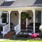 Ideas Small Porch Back Porches Country Decor