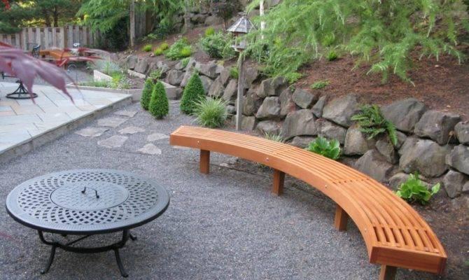Ideen Einen Gartenbank Holz Sitzbank Garten
