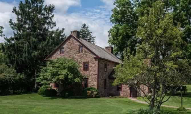 Idyllic Stone Houses Sale Pennsylvania Curbed