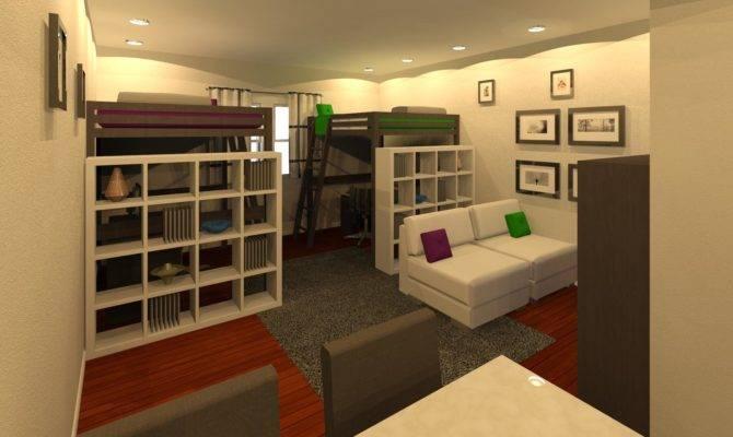 Ikea Studio Apartment Home Design Ideas