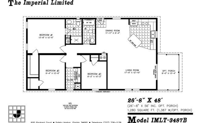 Imlt Mobile Home Floor Plan Ocala Custom Homes