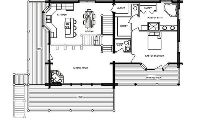 Imposing Floor Plan Design Chalet Plans