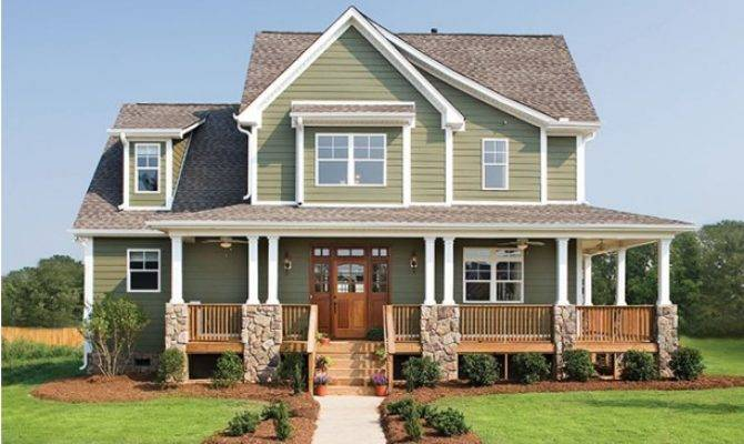Impressive Farmhouse Wrap Around Porch Plans