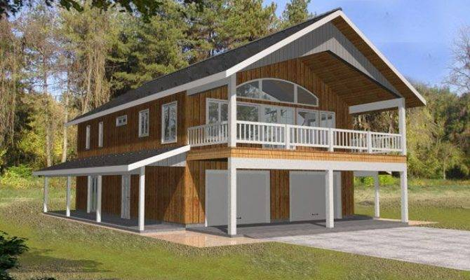 Impressive Two Story Garage Apartment House Plans