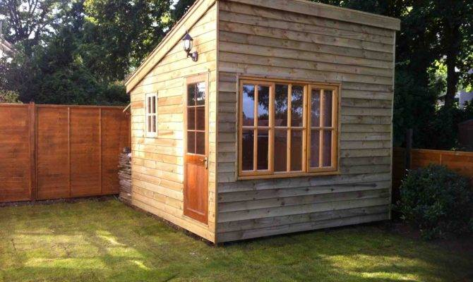 Improvement Leads Home Building Office Shed Before After