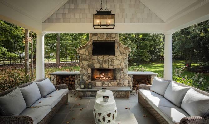 Increase Efficiency Patio Fireplace