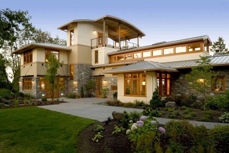 Incredible Contemporary Portland Home Design House Plans 72540
