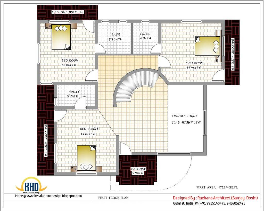 India House Plans First Floor Plan House Plans 66716