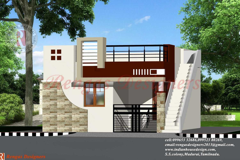 Indian House Design Single Floor Designs - House Plans | #67901