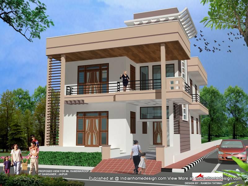 Indian House Front Joy Studio Design Best House Plans 87800