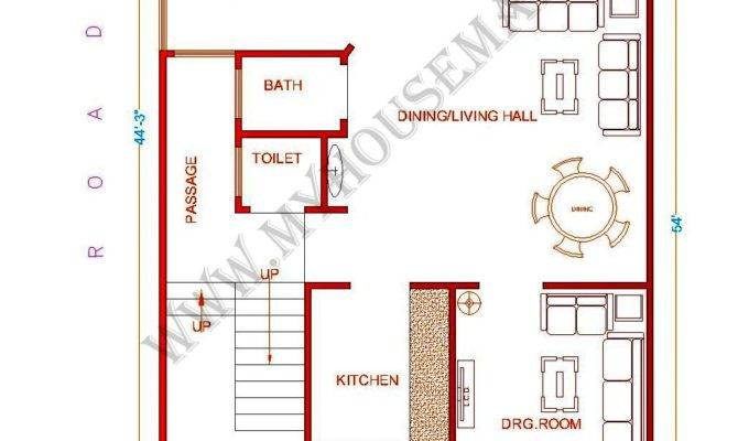 Indian House Map Design Sample