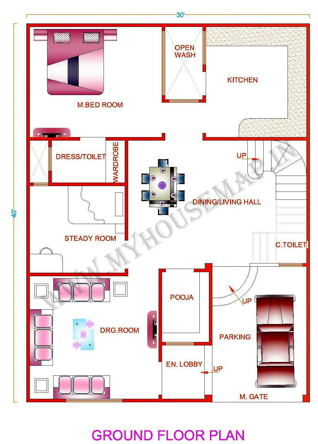 Indian House Map Design Sample House Plans 133080