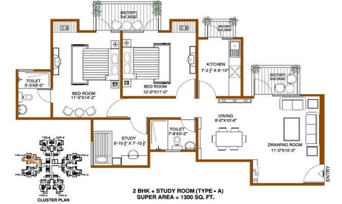 Indian House Plans Vardhman Flora Gurgaon