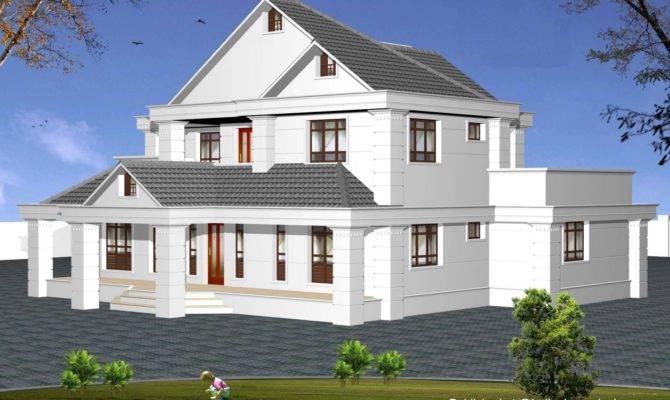 Indian Model House Plans Exterior Views Homivo