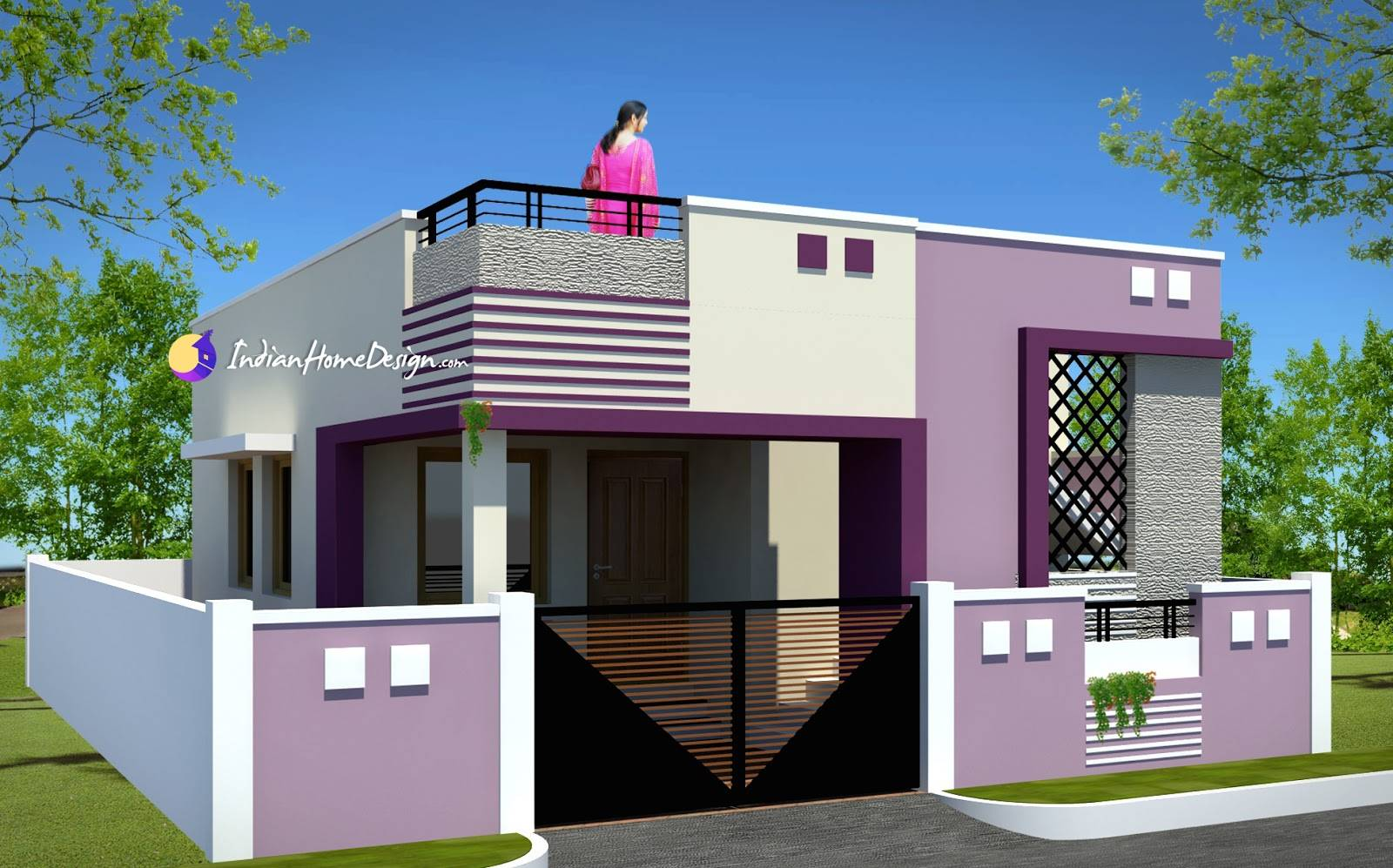Indian Small House Design Bedroom Modern Plan Plans 143796
