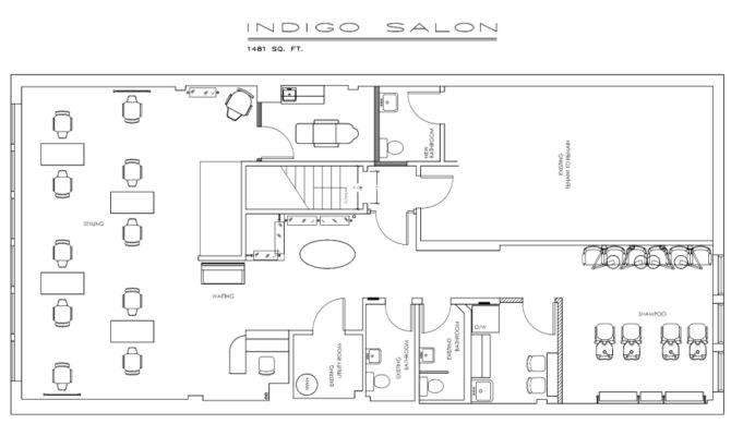 Indigo Salon Floor Plan