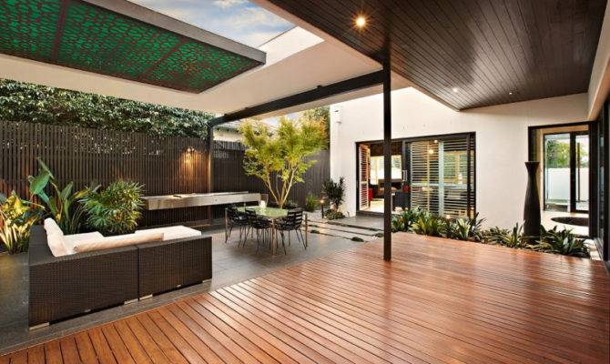 Indoor Outdoor House Design Alfresco Terrace Living Area