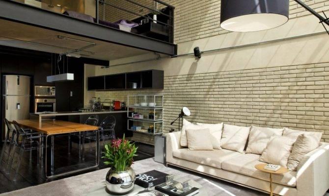 Industrial Chic Loft Features Ideal Match Between Comfort